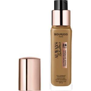 Bourjois Always Fabulous dlhotrvajúci make-up SPF 20 odtieň 520 Caramel 30 ml