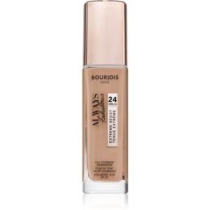 Bourjois Always Fabulous dlhotrvajúci make-up SPF 20 odtieň 200 Vanille Rosé 30 ml