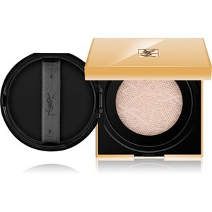 Yves Saint Laurent Touche Éclat Le Cushion rozjasňujúci tekutý make-up v hubke odtieň B 50 Honey 15 g