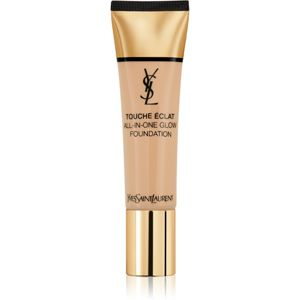 Yves Saint Laurent Touche Éclat All-In-One Glow tekutý make-up SPF 23 odtieň B40 Sand 30 ml