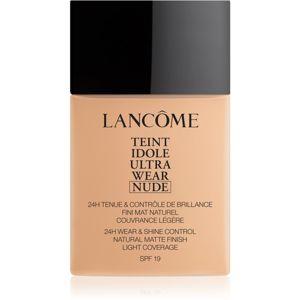 Lancôme Teint Idole Ultra Wear Nude ľahký zmatňujúci make-up odtieň 021 Beige Jasmin 40 ml