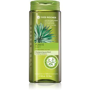 Yves Rocher Purity čistiaci šampón pre mastné vlasy 300 ml