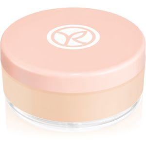 Yves Rocher Loose Powder sypký rozjasňujúci púder pre zamatový vzhľad pleti odtieň Universal 15 g