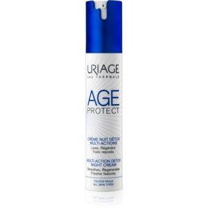 Uriage Age Protect multiaktívny detoxikačný krém na noc