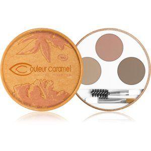 Couleur Caramel Eyebrow Kit paleta pre líčenie obočia