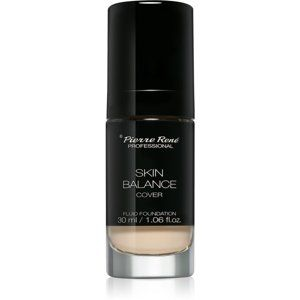 Pierre René Skin Balance Cover vodeodolný tekutý make-up odtieň 19 Cool Ivory 30 ml