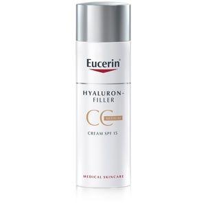 Eucerin Hyaluron-Filler CC krém proti hlbokým vráskam SPF 15 odtieň Medium Dark 50 ml