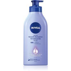 Nivea Smooth Sensation výživné telové mlieko pre veľmi suchú pokožku 625 ml