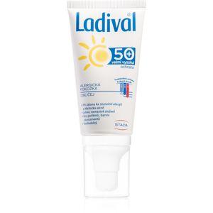 Ladival Allergic ochranný krémový gél na opaľovanie proti alergii na slnko na tvár, krk a dekolt 50 ml