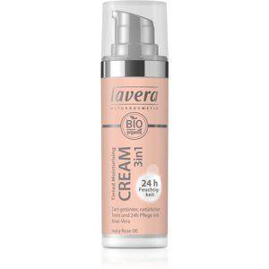 Lavera Tinted Cream tónujúci hydratačný krém 3v1 odtieň 00 Ivory Rose 30 ml