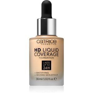 Catrice HD Liquid Coverage make-up odtieň 036 Hazelnut Beige
