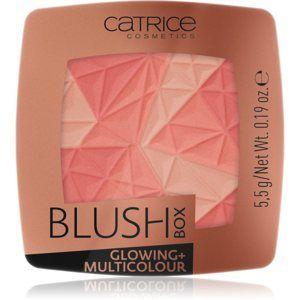 Catrice Blush Box Glowing + Multicolour rozjasňujúca lícenka