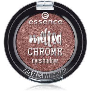 Essence Melted Chrome očné tiene odtieň 07 Warm Bronze 2 g