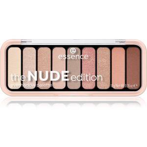 Essence The Nude Edition paletka očných tieňov odtieň 10 Pretty in Nude 10 g