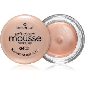 Essence Soft Touch zmatňujúci penový make-up odtieň 04 Matt Ivory 16 g