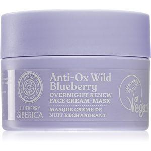 Natura Siberica Anti-Ox Wild Blueberry obnovujúca nočná krémová maska 50 ml