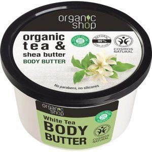 Organic Shop Organic Tea & Shea Butter intenzívne hydratačné telové ma