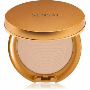 Sensai Silky Bronze Natural Veil Compact vodeodolný púder odtieň SC02 Natural 8,5 g