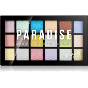 Barry M Paradise paletka očných tieňov 18 x 0,9 g