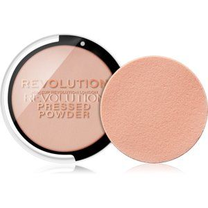 Makeup Revolution Pressed Powder kompaktný púder odtieň Soft Pink 7,5 g