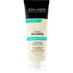 John Frieda Sheer Blonde Highlight Activating hydratačný kondicionér pre blond vlasy 250 ml