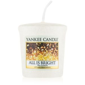 Yankee Candle All is Bright votívna sviečka 49 g