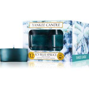 Yankee Candle Icy Blue Spruce čajová sviečka 12 ks