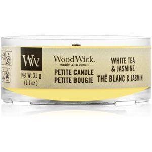 Woodwick Vanilla Sol votívna sviečka s dreveným knotom 31 g