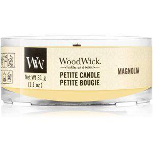 Woodwick Magnolia votívna sviečka 31 g s dreveným knotom