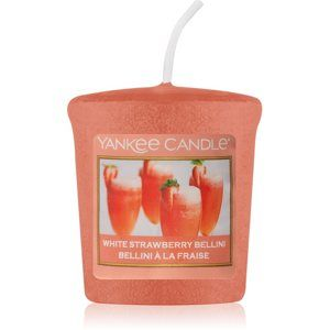 Yankee Candle White Strawberry Bellini votívna sviečka