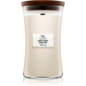 Woodwick Smoked Jasmine vonná sviečka s dreveným knotom 609,5 g
