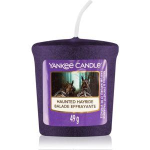 Yankee Candle Haunted Hayride votívna sviečka 49 g