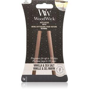 Woodwick Vanilla & Sea Salt vôňa do auta náhradná náplň