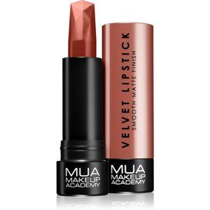 MUA Makeup Academy Velvet Matte matný rúž odtieň Dreamy 3,5 g