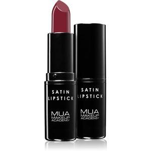 MUA Makeup Academy Satin saténový rúž odtieň Déjà Vu 3,2 g