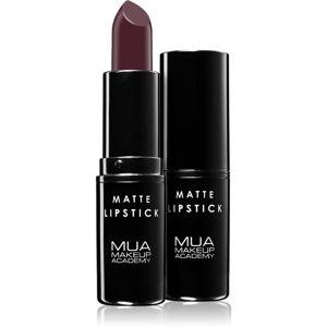 MUA Makeup Academy Matte matný rúž odtieň Survivor 3,2 g