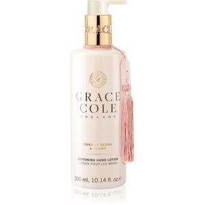 Grace Cole Vanilla Blush & Peony ošetrujúci krém na ruky 300 ml