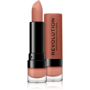 Makeup Revolution Matte matný rúž odtieň 111 Crush 3,5 ml