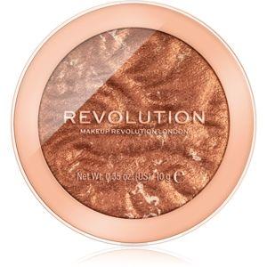 Makeup Revolution Reloaded rozjasňovač odtieň TimeTo Shine 10 g