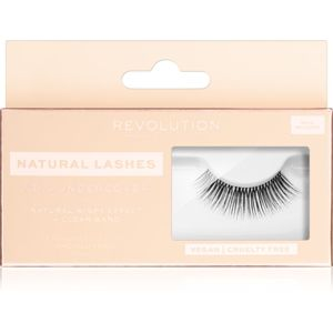 Makeup Revolution False Lashes Natural nalepovacie riasy + lepidlo 1 ml NO.3 Undercover
