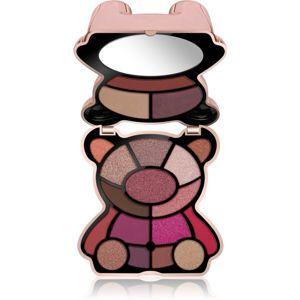 I Heart Revolution Teddy Bear paletka očných tieňov odtieň Rosie 14,4 g