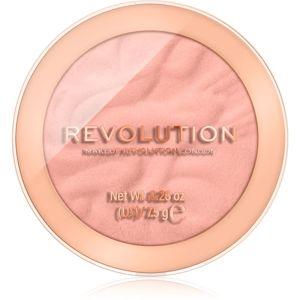 Makeup Revolution Reloaded dlhotrvajúca lícenka odtieň Peaches & Cream 7,5 g
