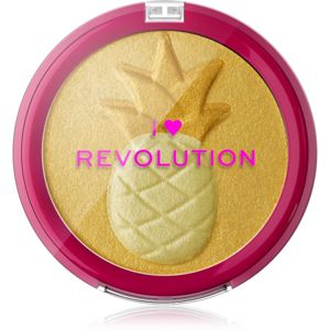 I Heart Revolution Fruity Highlighter Pineapple kompaktný púdrový rozjasňovač