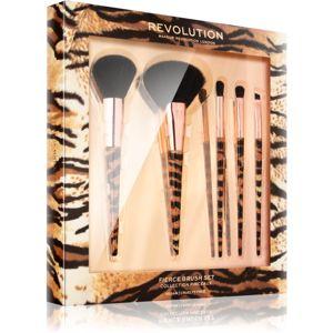 Makeup Revolution Fierce Brush Set sada štetcov pre ženy