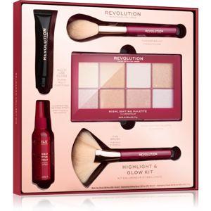 Makeup Revolution Highlight & Glow darčeková sada (pre ženy)