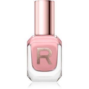 Makeup Revolution High Gloss vysoko krycí lak na nechty s vysokým leskom odtieň Bare 10 ml