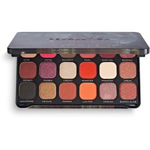 Makeup Revolution Halloween Eyeshadow Palette paletka očných tieňov odtieň Haunted House 19,8 g