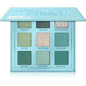 Makeup Obsession Mini Palette paletka očných tieňov odtieň Keep It Fresh 11,7 g