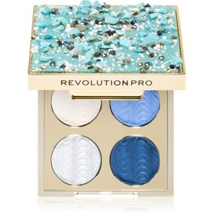 Revolution PRO Ultimate Eye Look paletka očných tieňov odtieň Ocean Treasure 3,2 g