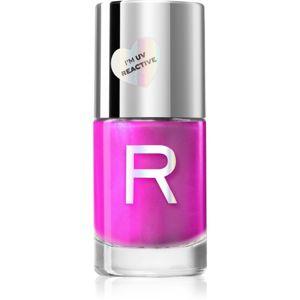 Makeup Revolution Neon Glow neónový lak na nechty odtieň Purple Soul 10 ml